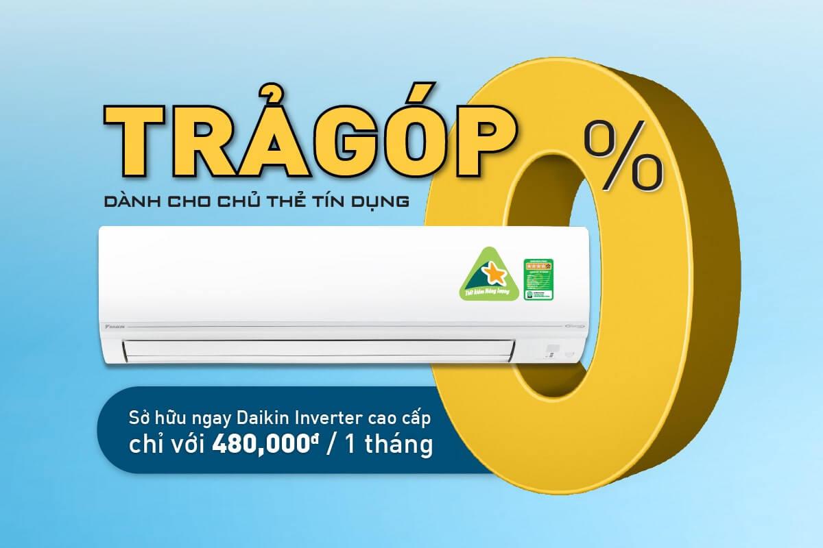 Daikin ra mắt chương trình Trả Góp 0% lãi suất qua cổng thanh toán Payoo