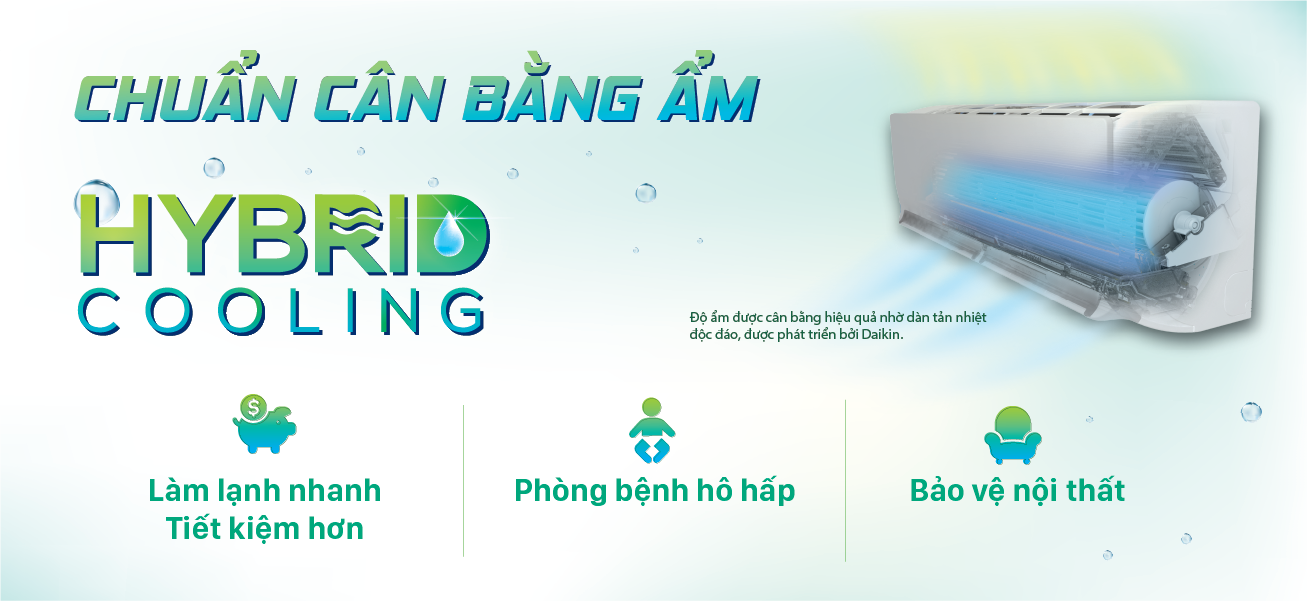 Chuẩn cân bằng ẩm - Hybrid Cooling