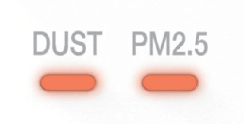 Đèn cảm biến bụi, PM2.5