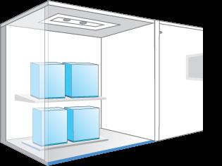 Lắp đặt trong nhà giải quyết được bài toán tìm vị trí phù hợp để đặt dàn nóng